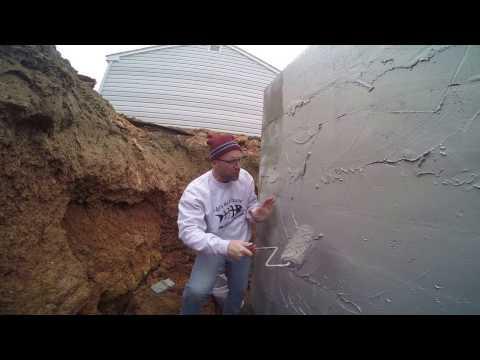 The Best Basement Waterproofing: Easy - DIY Coating - Block Foundation - Exterior Waterproofing