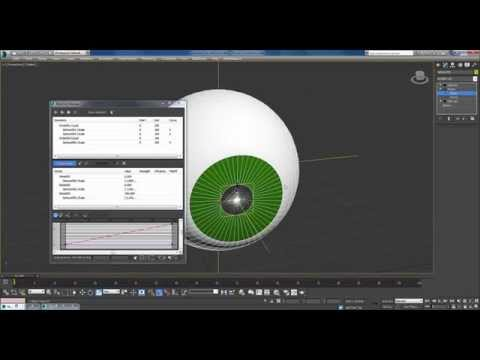 Eye rigging 3ds Max (TUTORIAL)