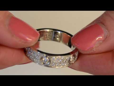 A Cartier Diamond 'Love' Ring