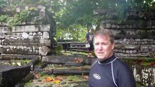Nan Madol ancient city of Ponhpei