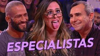 MELHORES MOMENTOS | Entrevista com Especialista | Lady Night | Humor Multishow