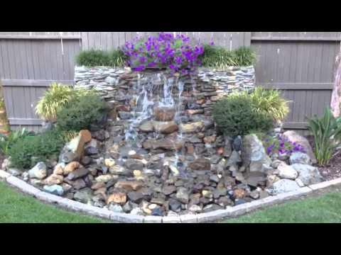 DIY Backyard Waterfall (updated)