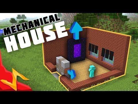 Minecraft - Mechanical Redstone/Piston House Tour