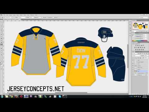 How to create a jersey concept in Photoshop