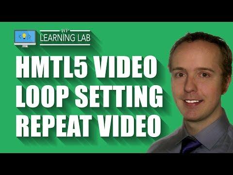 HTML5 Video Loop - Embed Code & Loop Parameter On Blog Post