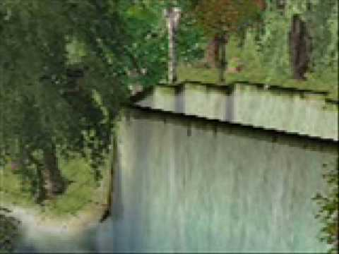 Sims 2 Cheats - how to make a waterfall