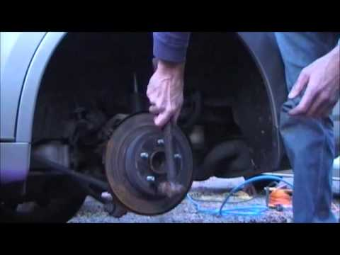 2004 Maxima rear wheel bearing replacement