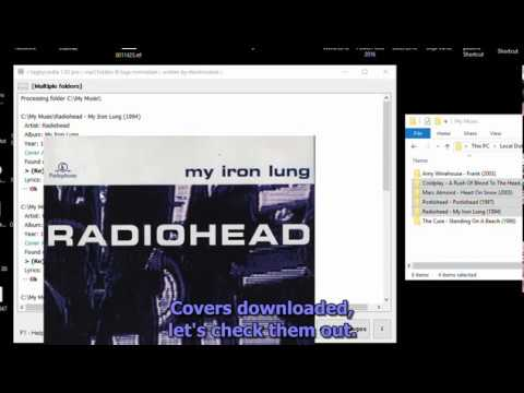 How to get and embed cover art Into your MP3 Albums Automatically