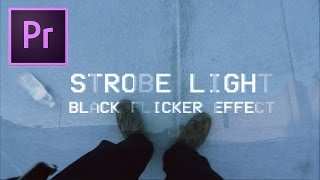 Adobe Premiere Pro CC Tutorial: Strobe Light & Flicker Transition Effect (Simple How to 2017)