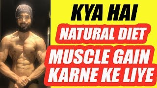 Kya hai natural diet muscle gain ke liye | Only on Tarun Gill Talks