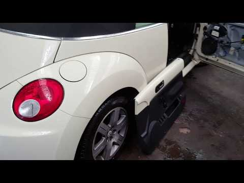 Vw Beetle door cover removal, handle cable replacement/removal. Door wouldnt open from inside fixed