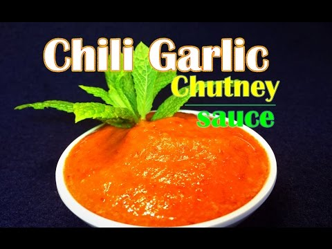 Chili garlic Chutney or Sauce Recipe