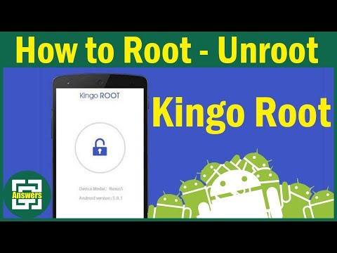 [02] How to Root / UnRoot any Android Device using Kingo Root