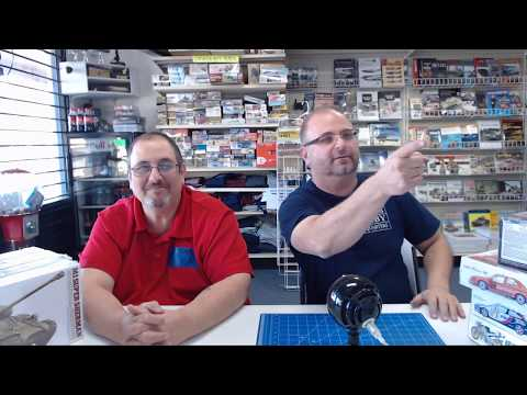 Hobby Talk live Tuesday , The Great Model Crossover Challenge part 2