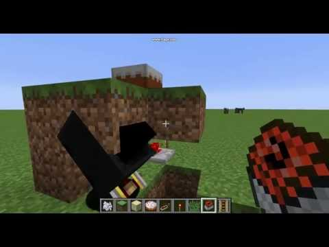 Minecraft Cake TNT trap improved design!