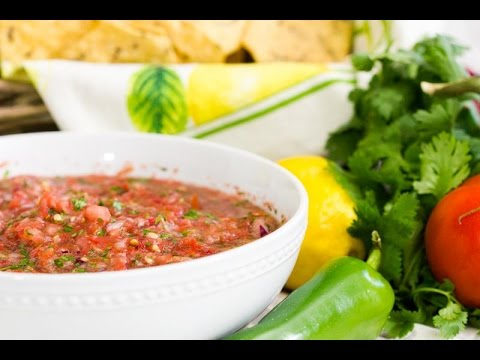 How to Make Food Processor Salsa | Fresh and Easy Recipe