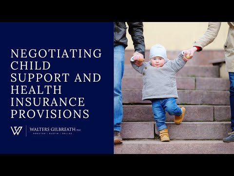 Negotiating Child Support and Health Insurance Provisions HD