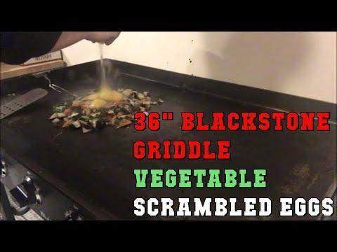 Vegetable Scrambled Eggs on 36