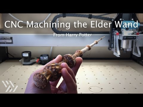 CNC Wizardry: Making Harry Potter's Elder Wand - Project #116
