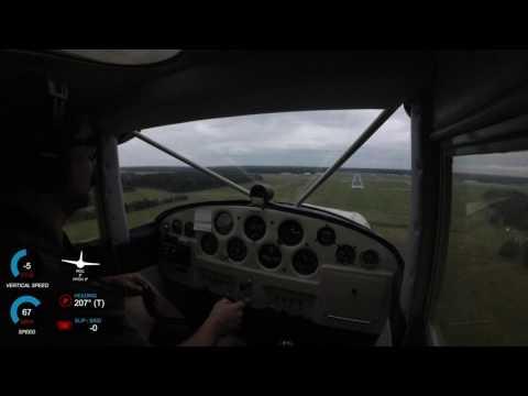 Luscombe Landing at Salisbury (KSBY)