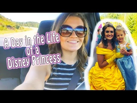 A Day in the Life of a Disney Princess