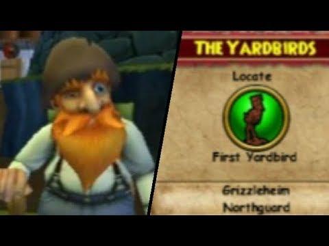Wizard101 - Prospector Zeke quest: The Yardbirds.