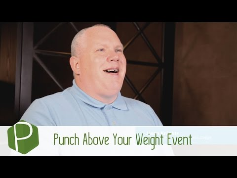 Punch Above Your Weight Networking Event