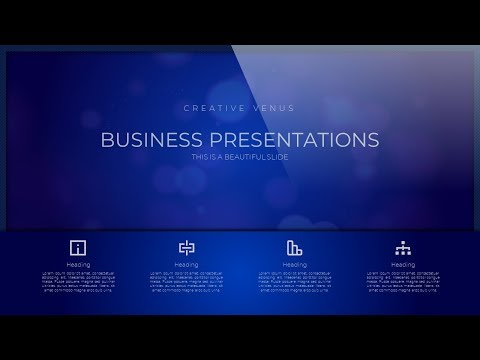 How To Design a Beautiful, Elegant Business Portfolio Slide in Microsoft Office 365 PowerPoint PPT