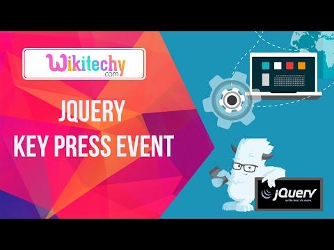 Jquery keypress event   jquery    Jquery Click   Jquery Event   Jquery Function   Wkitechy.com