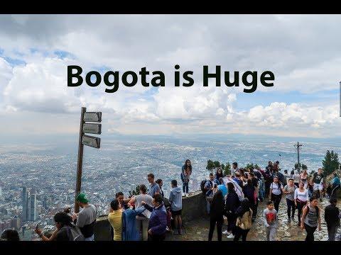 Monserrate, Bogota. View of Bogota like no other