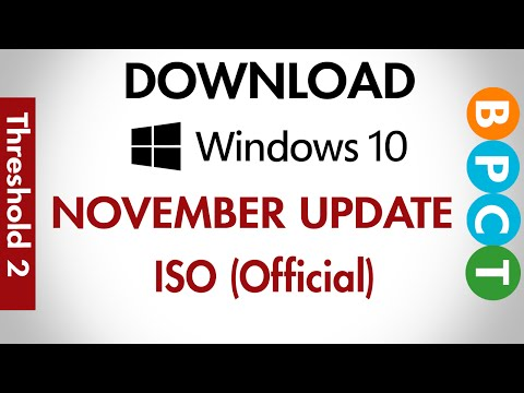 Download Windows 10 November Update ISO (Official)