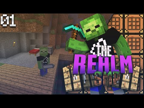 Minecraft PE Realms SMP E1 - The Return (MCPE 0.15.1 Multiplayer)