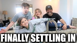 FINALLY SETTLING INTO OUR NEW HOUSE | MAKING OUR NEW HOUSE OUR NEW HOME | ALMOST COMPLETELY MOVED IN