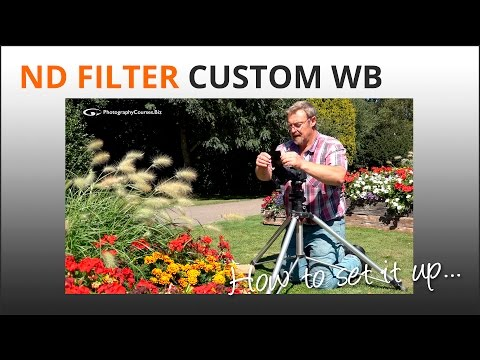 Photography Tips: Custom White Balance for ND Filter