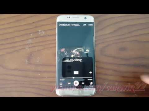 Samsung Galaxy S7 Edge : How to Change Play Speed video (Android Marshmallow)