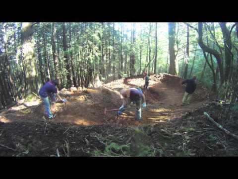 Building a Mountain Bike Flow Trail