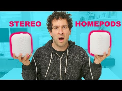 Stereo HomePods sound INSANE   Hands-on review