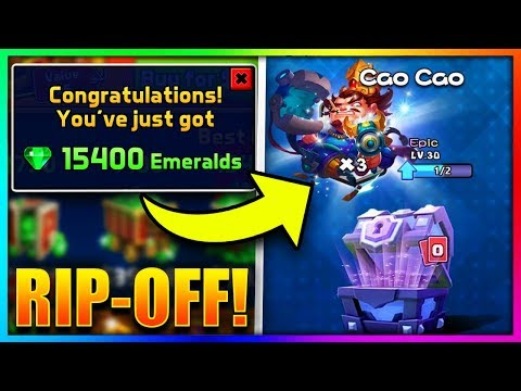 SPENDING $100 on a CLASH ROYALE RIP OFF!!