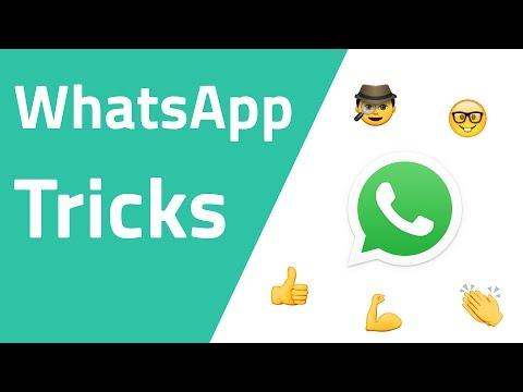 WhatsApp Tricks, die nicht jeder kennt !