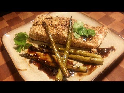 Super Easy Toasted Sesame Salmon