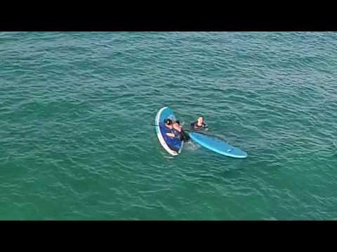 DJI Phantom Vision 2 Plus crashed into the sea
