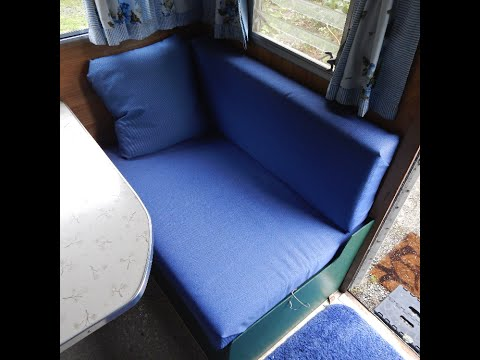 How to make simple camper cushions