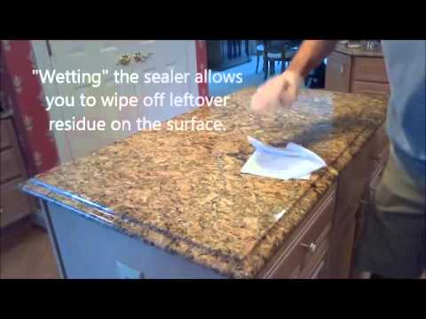 How To Properly Seal Granite Countertops