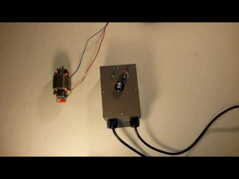 DC MOTOR SPEED CONTROL WITH SOFT START