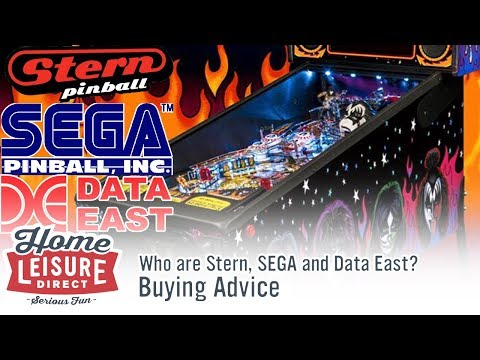 Who are STERN, SEGA and Data East Pinball?
