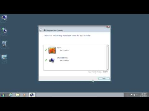 How to transfer files from Windows 7 to Windows 8