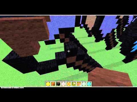 Minecraft How to makea Axe Statue