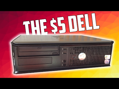Gaming on a $5 Dell Optiplex PC