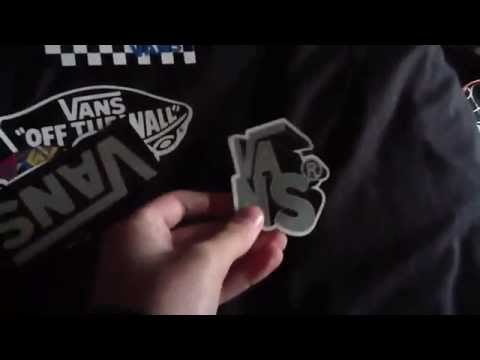 How to get FREE Vans stickers