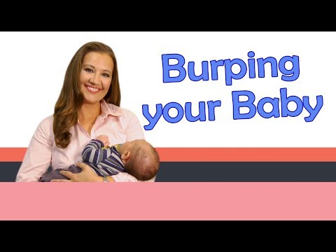 BURPING YOUR BABY | Baby Care with Jenni June